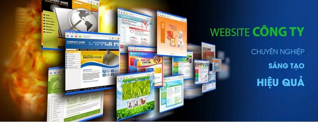 thiết kế web giới thiệu công ty