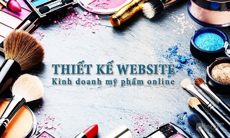 Thiết kế website bán mỹ phẩm online tại Thanh Hóa