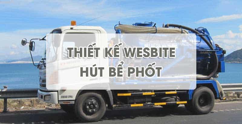Thiết kế website hút bể phốt tại Thanh Hóa